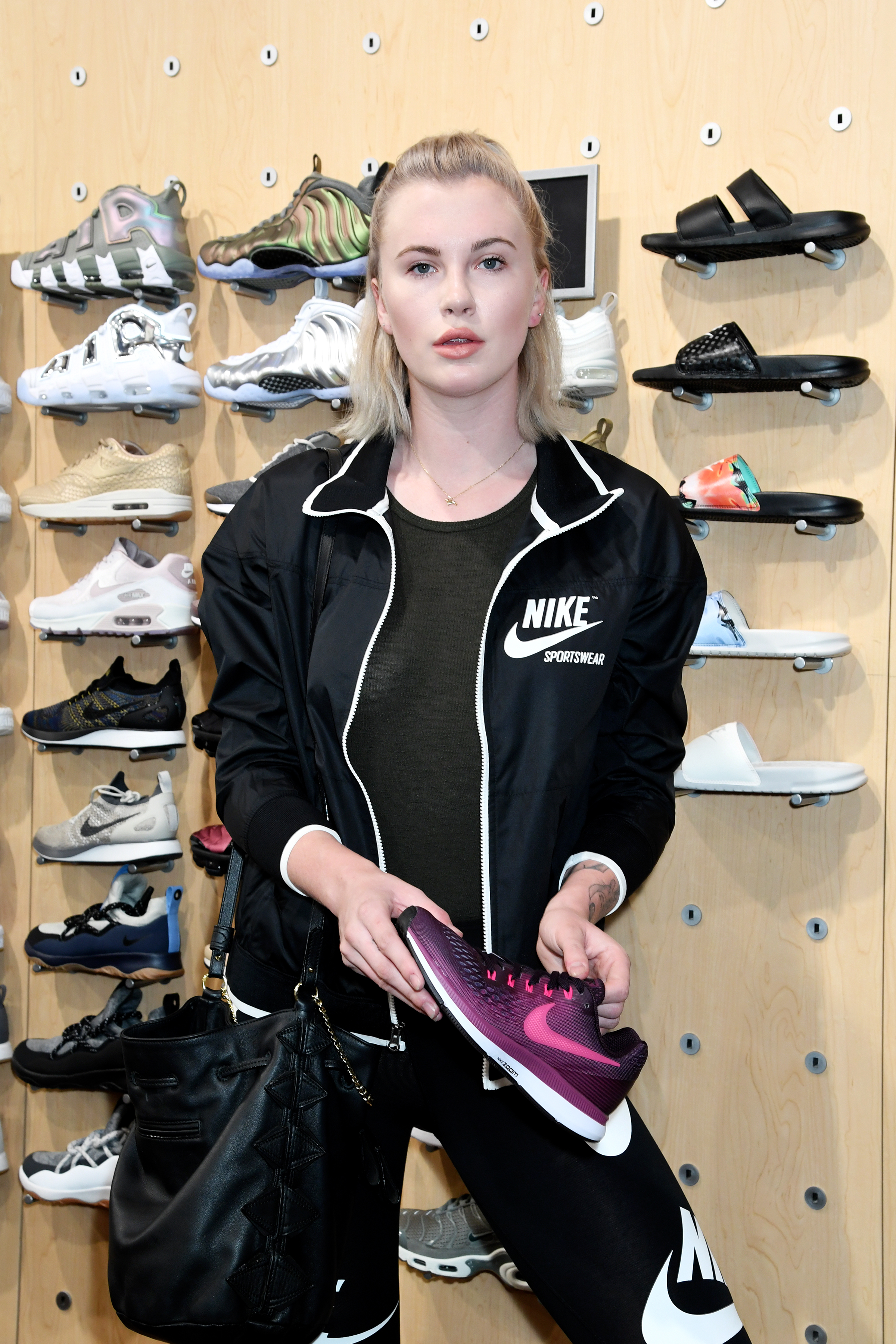 Model Ireland Baldwin attends a private shopping event at Six:02