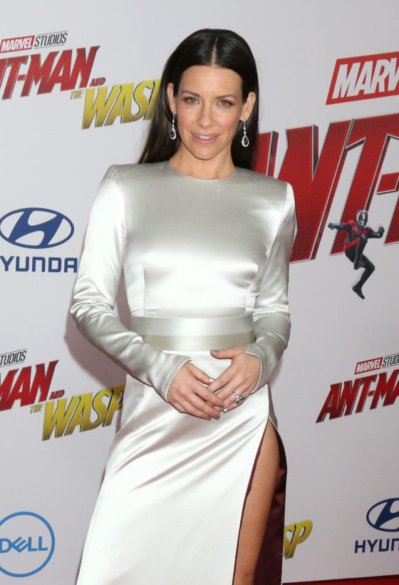 08d1783ee767c Evangeline Lilly in Kallati Jewels at 'Ant-Man and The Wasp' LA ...